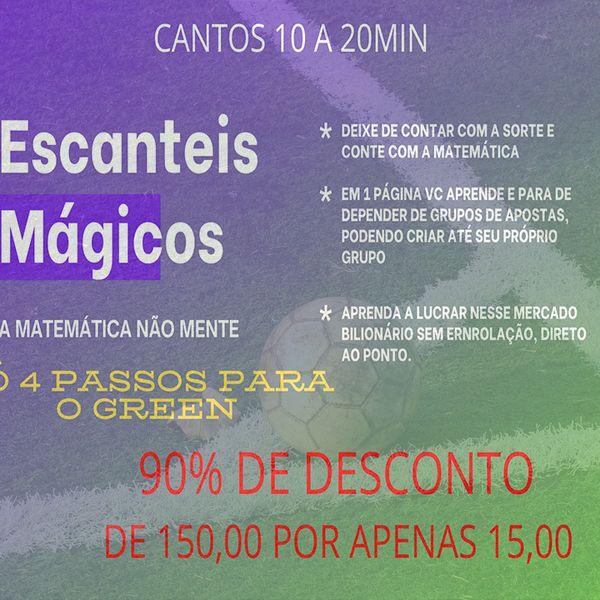 Imagem principal do produto Escanteios Mágicos 2.0