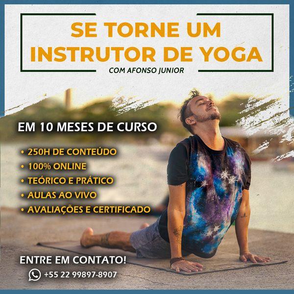 Imagem principal do produto Inscrições para o Curso de Formação Instrutores de Yoga - Turma Agosto 2021