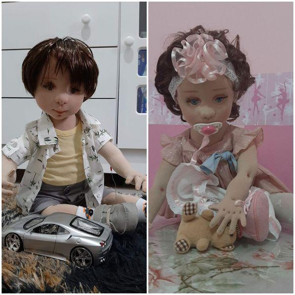 Imagem principal do produto Bebês Sofya e Caio - Plano vitalício