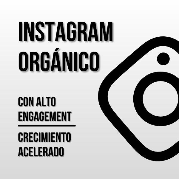 Imagem principal do produto Instagram Orgánico