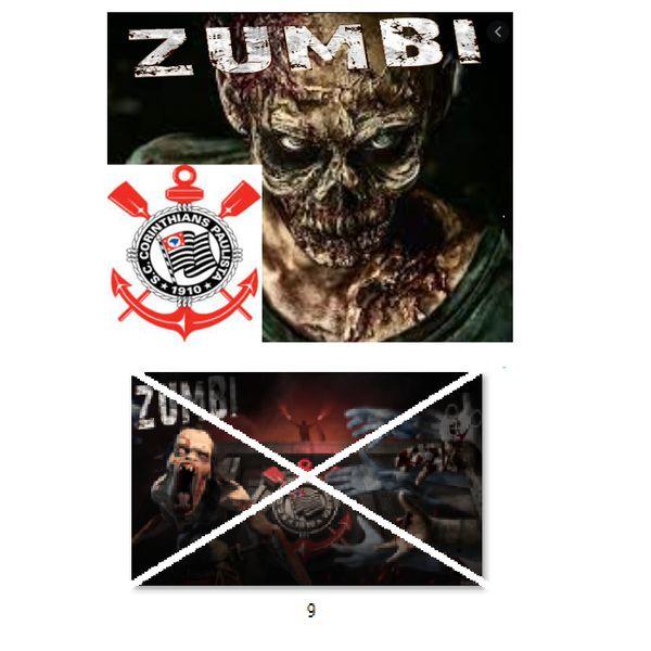 Imagem principal do produto Corinthians zumbi foto para estampar camisetas 9