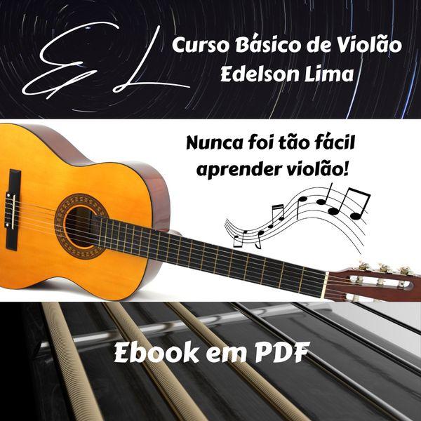 Imagem principal do produto Curso Básico de Violão Edelson Lima