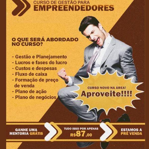 Imagem principal do produto Gestão para empreendedores
