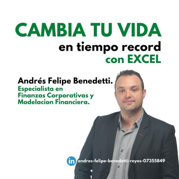 Imagem principal do produto CAMBIA TU VIDA EN TIEMPO RECORD CON EXCEL