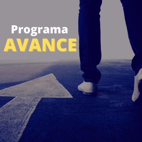 Imagem principal do produto Avance - Programa de desenvolvimento pessoal.