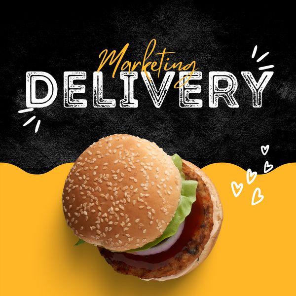 Imagem principal do produto Consultoria Mkt para delivery