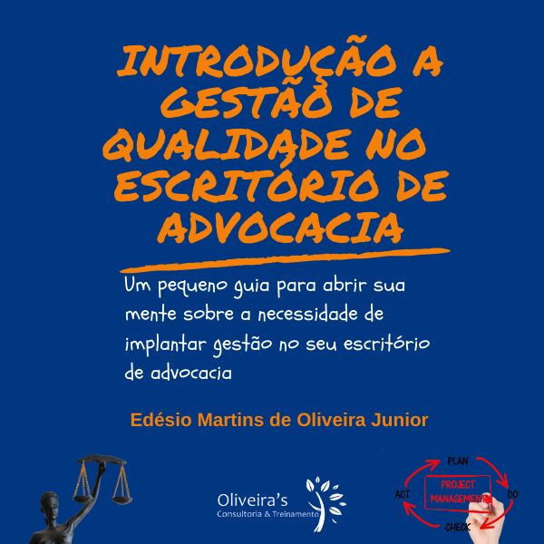 Imagem principal do produto Introdução a Gestão da Qualidade no Escritório de Advocacia