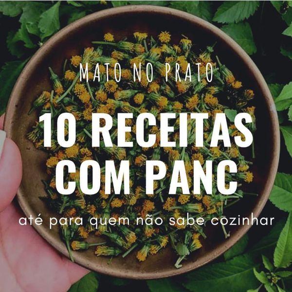 Imagem principal do produto E-book: 10 RECEITAS COM PANC