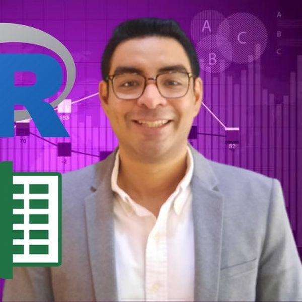 Imagem principal do produto Investment Portfolio Optimization with Excel & Rstudio