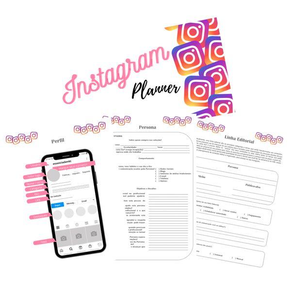 Imagem principal do produto Instagram Planner