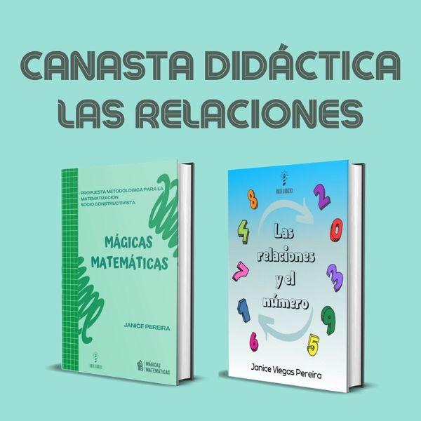 Imagem principal do produto CANASTA DIDÁCTICA PREESCOLAR MÁGICAS MATEMÁTICAS