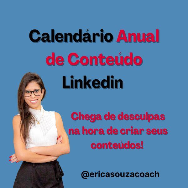 Imagem principal do produto Calendário Anual Linkedin