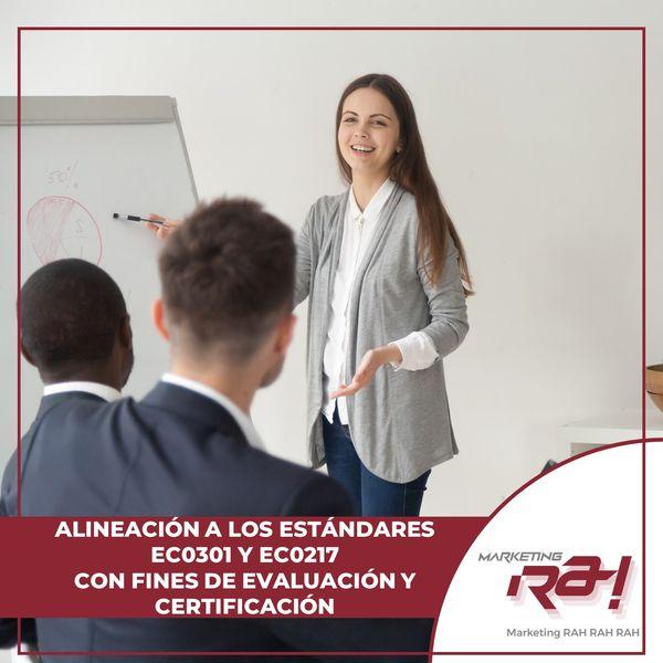 Imagem principal do produto ALINEACIÓN A LOS ESTÁNDARES  EC0301 Y EC0217  CON FINES DE EVALUACIÓN Y CERTIFICACIÓN ANTE LA SEP