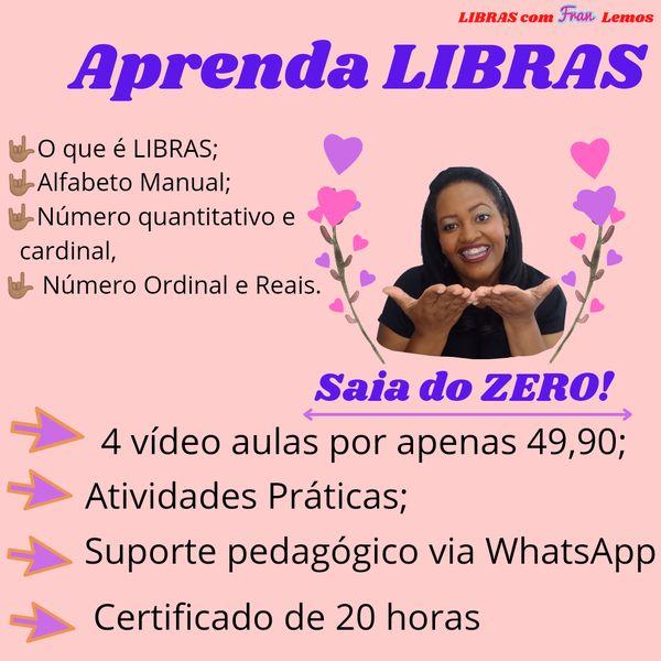 Imagem principal do produto Aprenda LIBRAS!