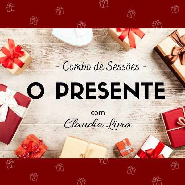 Imagem principal do produto Combo de Sessões O Presente com Claudia Lima