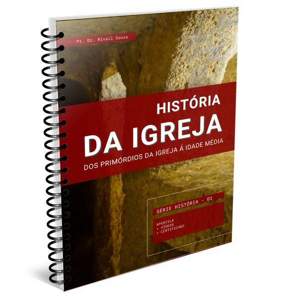 Imagem principal do produto CURSO DE HISTÓRIA ECLESIÁSTICA I   dos primórdios da Igreja á Idade média