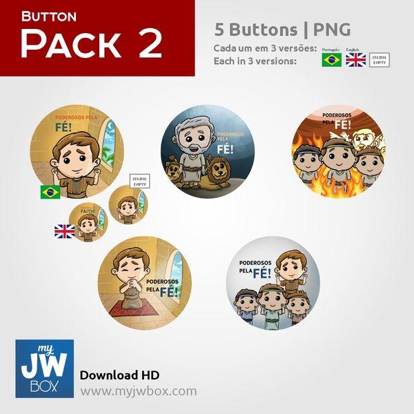 Imagem principal do produto Buttons em PNG - ButtonPack0002