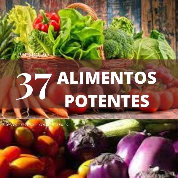 Imagem principal do produto 37 alimentos potentes para queimar gordura