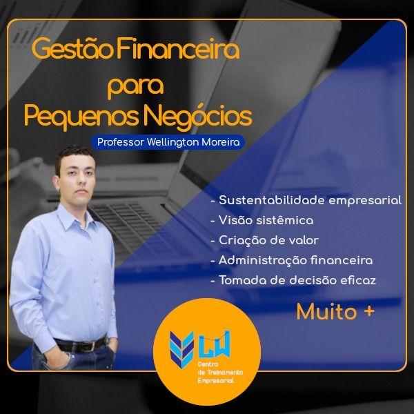 Imagem principal do produto Gestão Financeira para Pequenos Negócios