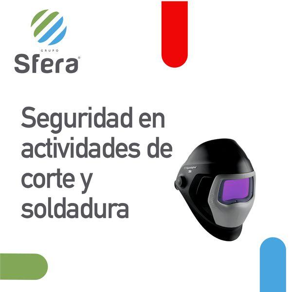 Imagem principal do produto Condiciones de seguridad, para actividades con corte y soldadura.