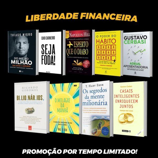 Imagem principal do produto Kit e-book Liberdade Financeira