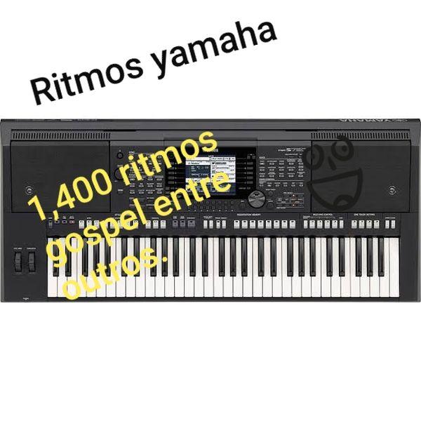 Pacote de ritmos pode ser usado com os modelos Yamaha PSR-S950, PSR-S750 e  PSR-S650  | Hotmart