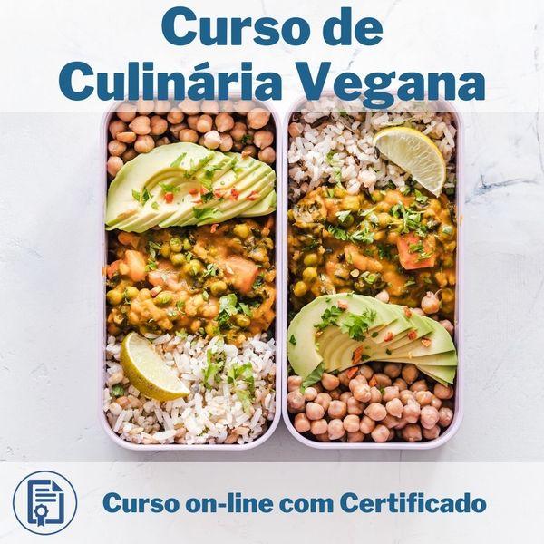 Imagem principal do produto Curso de Culinária Vegana