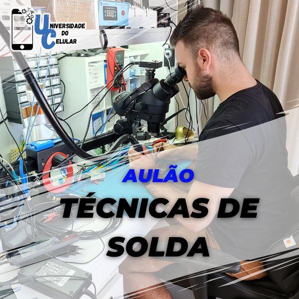 Imagem principal do produto Aulão de Técnicas de Solda