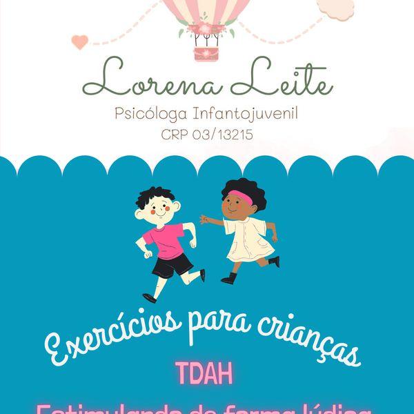 Imagem principal do produto Caderno de estimulação para crianças com TDAH