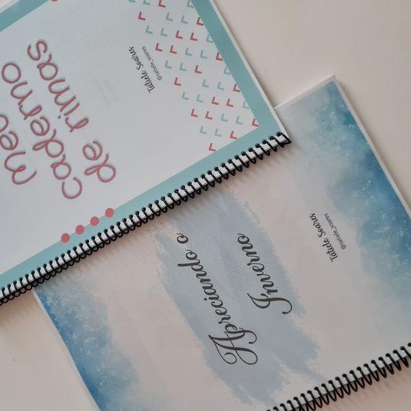 Imagem principal do produto COMBO Apreciando o Inverno + Caderno de Rimas