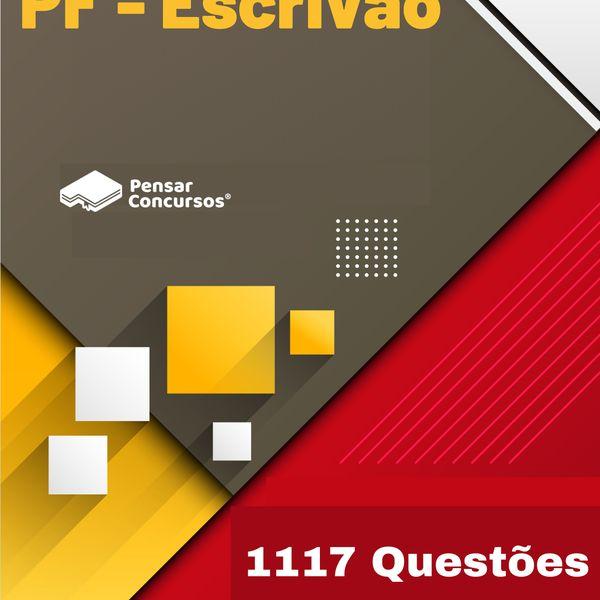 Imagem principal do produto 1117 Questões Gabaritadas PF (Escrivão)