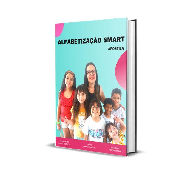 Imagem principal do produto APOSTILA DE ALFABETIZAÇÃO SMART - 140 EXERCÍCIOS SIMPLES E PRÁTICOS + BONIFICAÇÃO EXTRA!