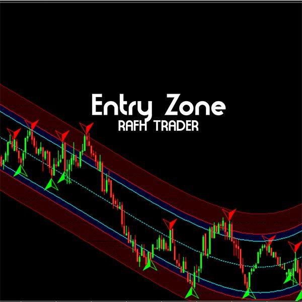 Imagem principal do produto Indicador Entry Zone   RAFH Trader