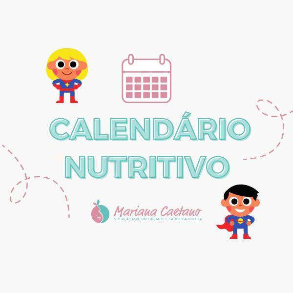 Imagem principal do produto Calendário Nutritivo - Mariana Caetano