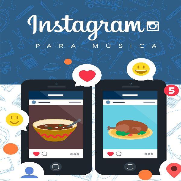 Imagem principal do produto Instagram para Música