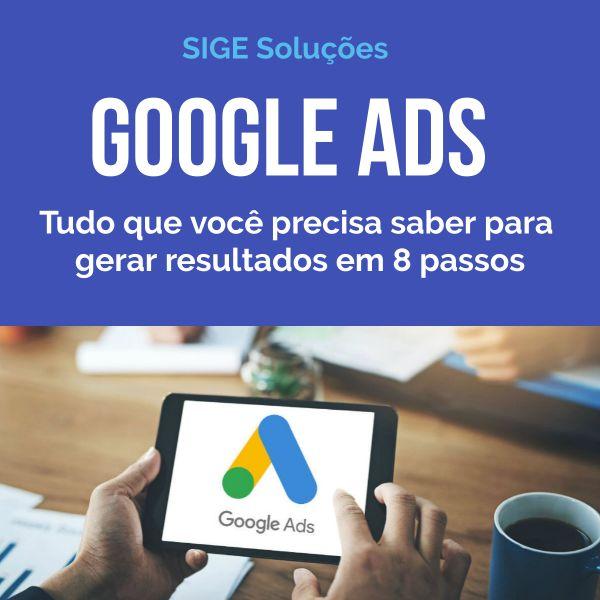 Imagem principal do produto Google Ads - Tudo que você precisa saber para gerar resultados em 8 passos
