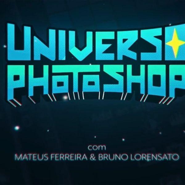 Imagem principal do produto CURSO UNIVERSO PHOTOSHOP DO ZERO AO AVANÇADO!! #2021