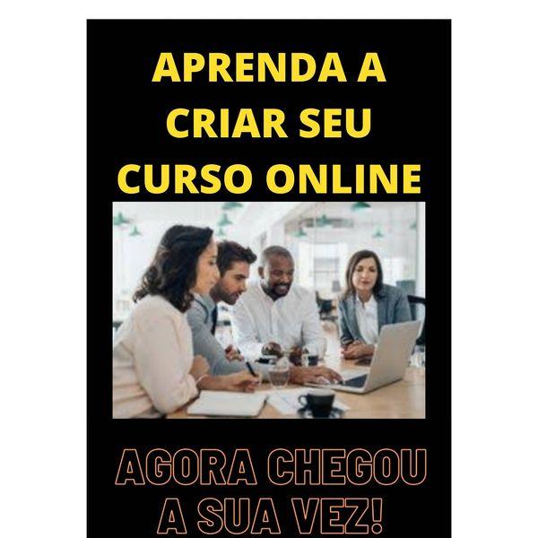 Imagem principal do produto COMO CRIAR SEU PRÓPRIO CURSO ONLINE