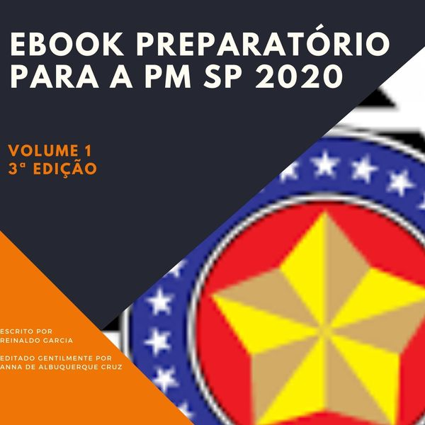 Imagem principal do produto E-Book Preparatório Para PMESP Soldado
