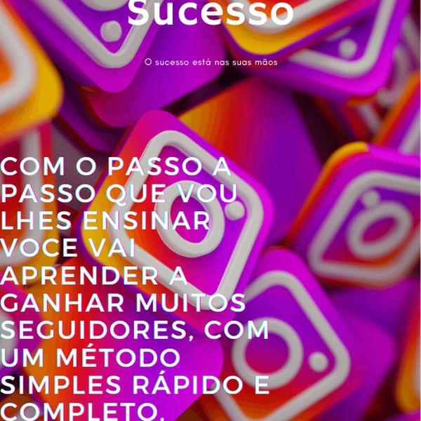 Imagem principal do produto Instagram de sucesso