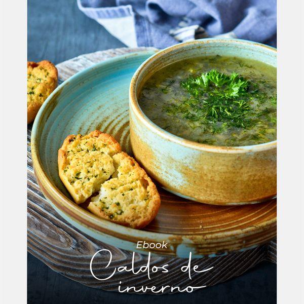 Imagem principal do produto E-book Caldos de Inverno + E-book Arraiá da Nutri (Bônus)