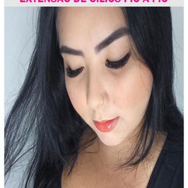 Imagem principal do produto E-BOOK EXTENSÃO DE CÍLIOS FIO A FIO