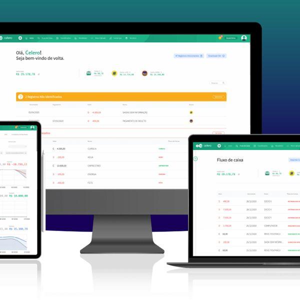 Imagem principal do produto Celero Start - Software de Gestão Financeira