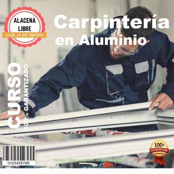 Imagem principal do produto Curso de Carpinteria en Aluminio