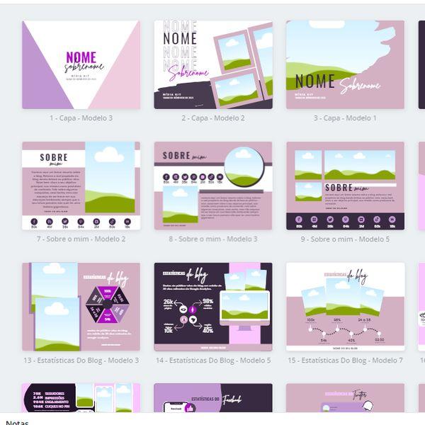Imagem principal do produto Combo da Influenciadora de Sucesso