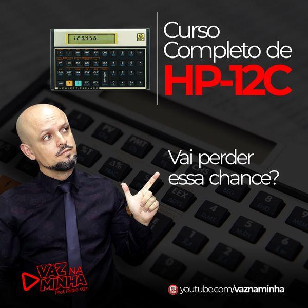 Imagem principal do produto Curso de HP-12C Completo