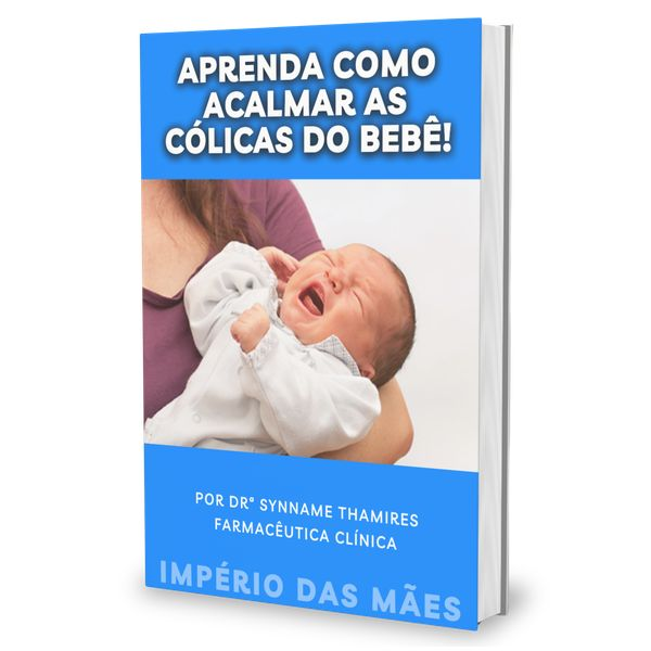 Imagem principal do produto Aprenda como Acalmar as Cólicas do Bebê!