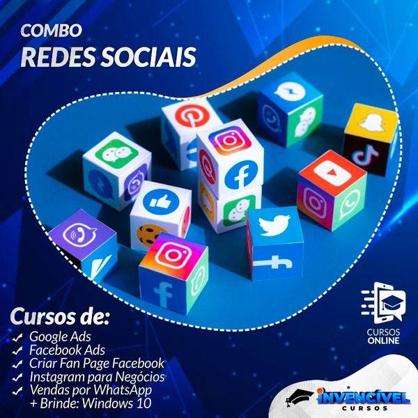 Imagem principal do produto COMBO REDES SOCIAIS