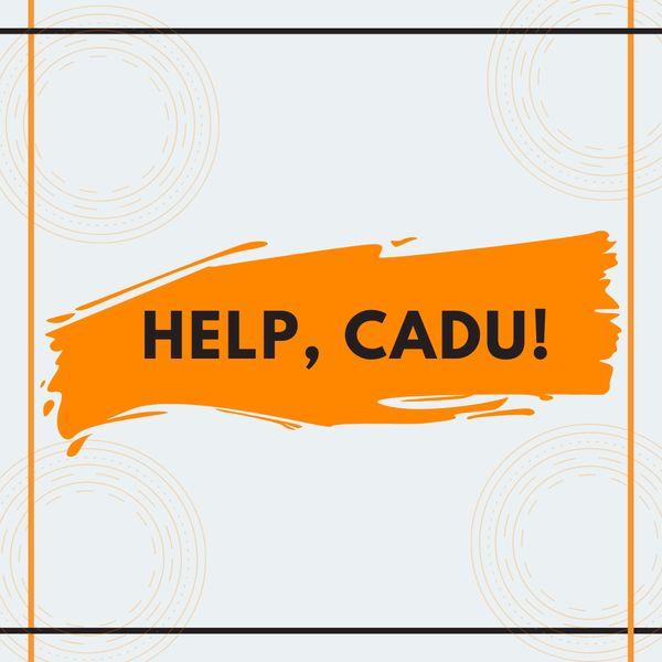 Imagem principal do produto Help, Cadu!
