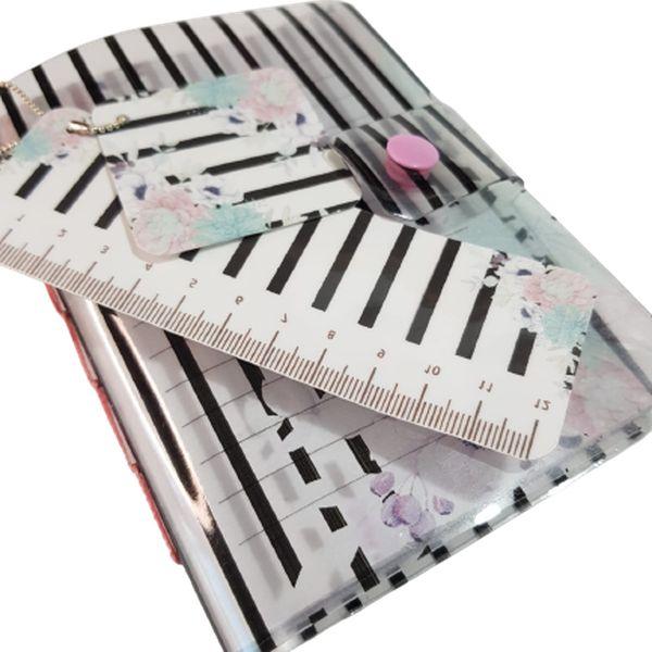 Imagem principal do produto Encadernação Pocket #1 - Caderneta com Capa Plástica Decorada - Faça e Venda Muito